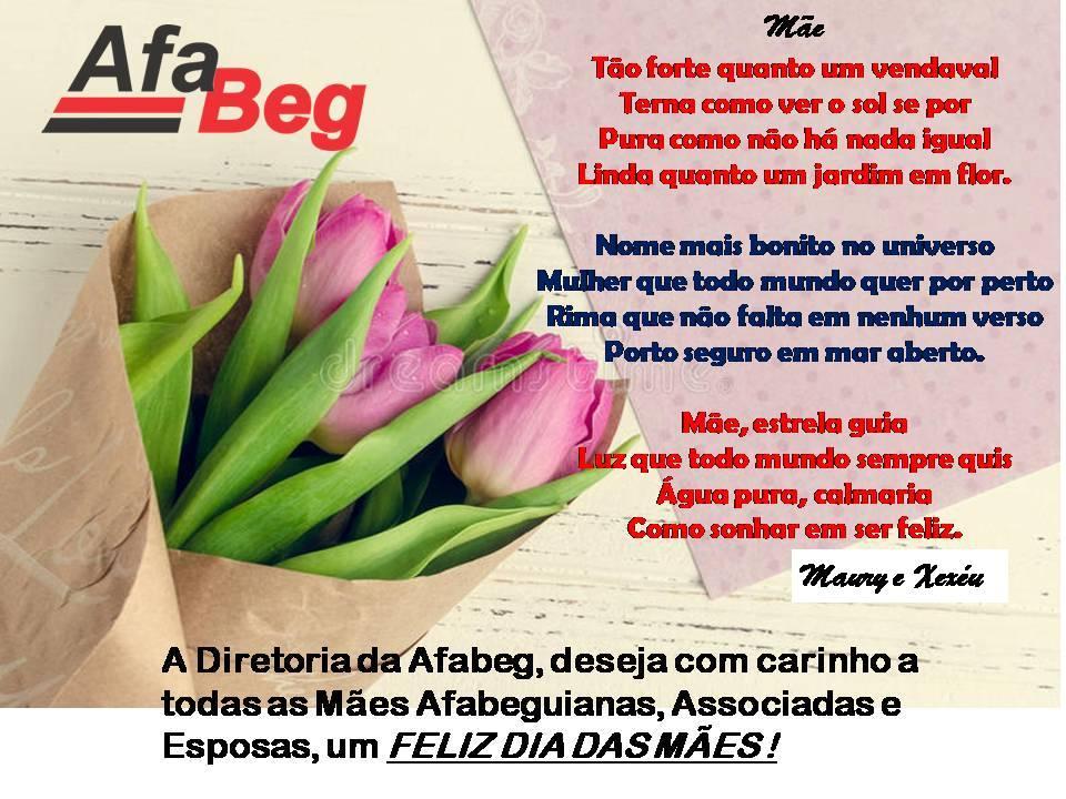 Homenagem às Mães Afabeguianas, Associadas e Esposas.